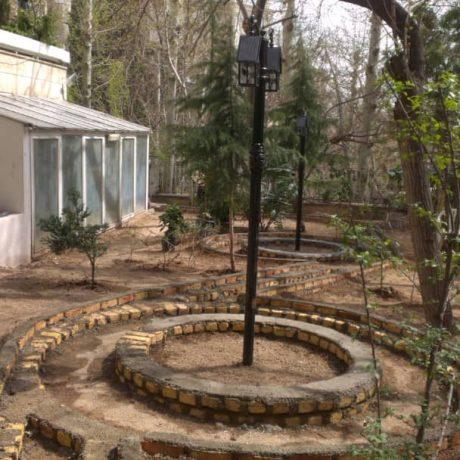 تلفیق معماری و باغبانی
